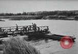 Image of Bailey bridge construction France, 1944, second 10 stock footage video 65675069434
