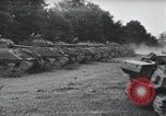 Image of tank battle France, 1944, second 1 stock footage video 65675069435