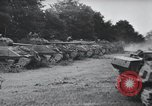 Image of tank battle France, 1944, second 4 stock footage video 65675069435