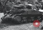 Image of tank battle France, 1944, second 7 stock footage video 65675069435