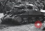 Image of tank battle France, 1944, second 8 stock footage video 65675069435