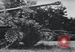 Image of tank battle France, 1944, second 11 stock footage video 65675069435