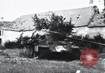 Image of tank battle France, 1944, second 12 stock footage video 65675069437