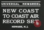 Image of James Harold Doolittle Newark New Jersey USA, 1935, second 7 stock footage video 65675069438
