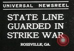 Image of workers strike Rossville Georgia USA, 1935, second 1 stock footage video 65675069439
