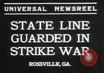 Image of workers strike Rossville Georgia USA, 1935, second 4 stock footage video 65675069439