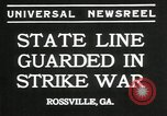 Image of workers strike Rossville Georgia USA, 1935, second 5 stock footage video 65675069439