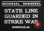 Image of workers strike Rossville Georgia USA, 1935, second 6 stock footage video 65675069439