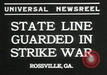Image of workers strike Rossville Georgia USA, 1935, second 8 stock footage video 65675069439