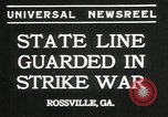 Image of workers strike Rossville Georgia USA, 1935, second 9 stock footage video 65675069439