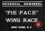 Image of pie eating contest New York United States USA, 1935, second 2 stock footage video 65675069441