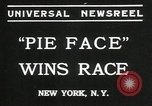 Image of pie eating contest New York United States USA, 1935, second 3 stock footage video 65675069441