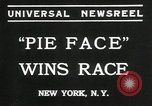 Image of pie eating contest New York United States USA, 1935, second 4 stock footage video 65675069441