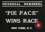 Image of pie eating contest New York United States USA, 1935, second 5 stock footage video 65675069441