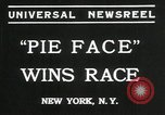 Image of pie eating contest New York United States USA, 1935, second 7 stock footage video 65675069441