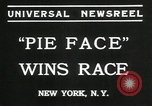 Image of pie eating contest New York United States USA, 1935, second 8 stock footage video 65675069441