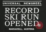 Image of ski run opened Mariazell Austria, 1935, second 8 stock footage video 65675069444