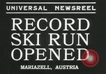 Image of ski run opened Mariazell Austria, 1935, second 9 stock footage video 65675069444