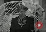 Image of Eleanor Roosevelt Washington DC USA, 1940, second 9 stock footage video 65675069455