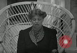 Image of Eleanor Roosevelt Washington DC USA, 1940, second 10 stock footage video 65675069455