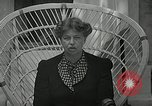 Image of Eleanor Roosevelt Washington DC USA, 1940, second 11 stock footage video 65675069455