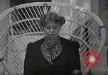 Image of Eleanor Roosevelt Washington DC USA, 1940, second 12 stock footage video 65675069455