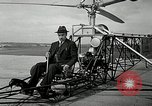 Image of Vought-Sikorsky VS-300 Bridgeport Connecticut USA, 1940, second 5 stock footage video 65675069456