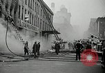 Image of fire in a building New York United States USA, 1940, second 4 stock footage video 65675069457