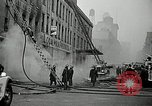 Image of fire in a building New York United States USA, 1940, second 5 stock footage video 65675069457