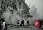 Image of fire in a building New York United States USA, 1940, second 6 stock footage video 65675069457