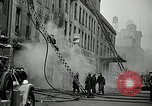 Image of fire in a building New York United States USA, 1940, second 7 stock footage video 65675069457