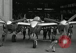 Image of P-38 Lightning Burbank California USA, 1941, second 11 stock footage video 65675069461