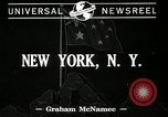 Image of Robert Gordon Menzies New York United States USA, 1941, second 2 stock footage video 65675069463