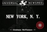 Image of Robert Gordon Menzies New York United States USA, 1941, second 3 stock footage video 65675069463