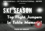 Image of Tokle Memorial jump New York United States USA, 1951, second 1 stock footage video 65675069470