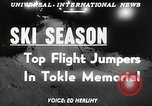 Image of Tokle Memorial jump New York United States USA, 1951, second 2 stock footage video 65675069470