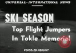 Image of Tokle Memorial jump New York United States USA, 1951, second 3 stock footage video 65675069470