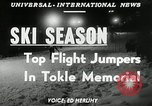Image of Tokle Memorial jump New York United States USA, 1951, second 4 stock footage video 65675069470