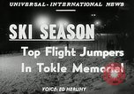 Image of Tokle Memorial jump New York United States USA, 1951, second 5 stock footage video 65675069470