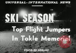 Image of Tokle Memorial jump New York United States USA, 1951, second 6 stock footage video 65675069470