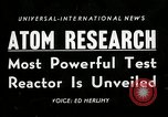 Image of test reactor Idaho United States USA, 1954, second 1 stock footage video 65675069471