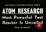 Image of test reactor Idaho United States USA, 1954, second 2 stock footage video 65675069471