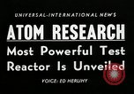 Image of test reactor Idaho United States USA, 1954, second 4 stock footage video 65675069471