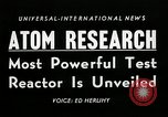 Image of test reactor Idaho United States USA, 1954, second 6 stock footage video 65675069471