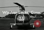 Image of jet helicopter Windsor Locks Connecticut USA, 1954, second 6 stock footage video 65675069472