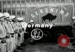 Image of buffalo calf joins 510th Tank Battalion as mascot Germany, 1954, second 1 stock footage video 65675069473