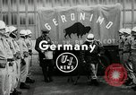 Image of buffalo calf joins 510th Tank Battalion as mascot Germany, 1954, second 3 stock footage video 65675069473