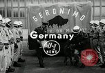 Image of buffalo calf joins 510th Tank Battalion as mascot Germany, 1954, second 4 stock footage video 65675069473