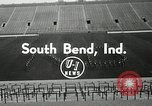 Image of Notre Dame Fighting Irish South Bend Indiana USA, 1954, second 5 stock footage video 65675069475