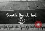 Image of Notre Dame Fighting Irish South Bend Indiana USA, 1954, second 8 stock footage video 65675069475